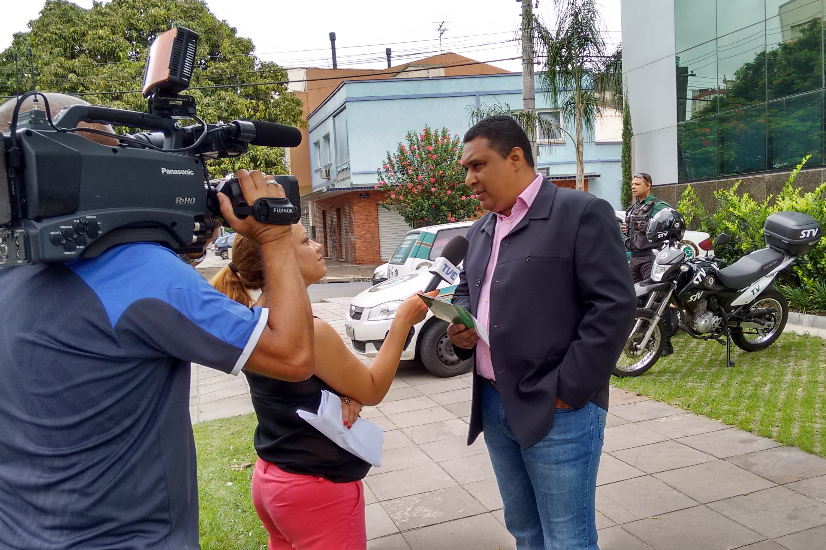 STV fala sobre segurança nas férias para TVE